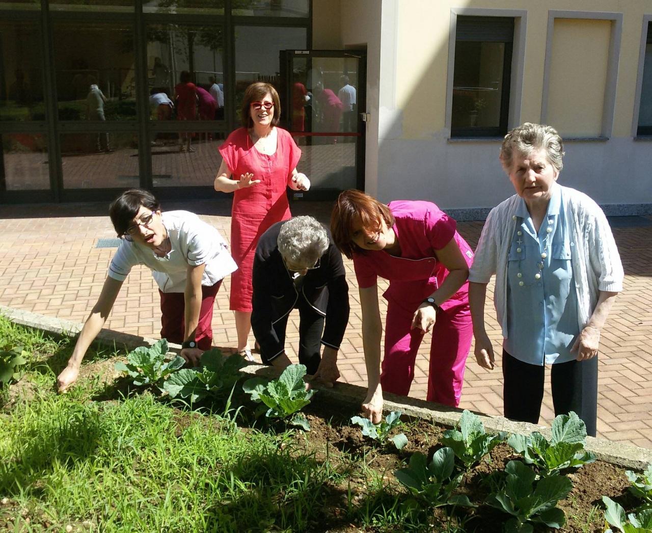 Prendersi cura dell'orto fa bene a chi soffre di Alzheimer