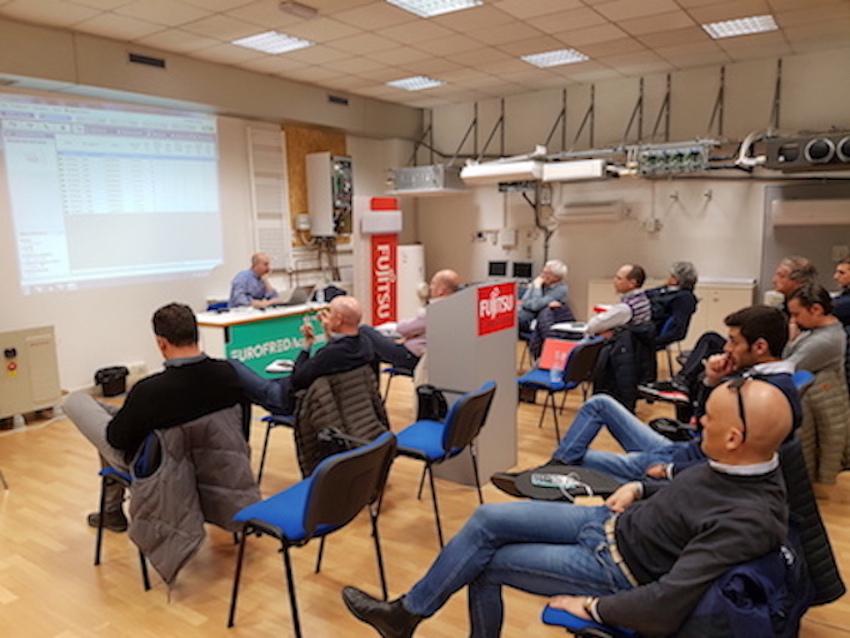 Fujitsu Climatizzatori: proseguono le attività dell'Eurofred Academy, ad aprile due corsi per progettisti e installatori