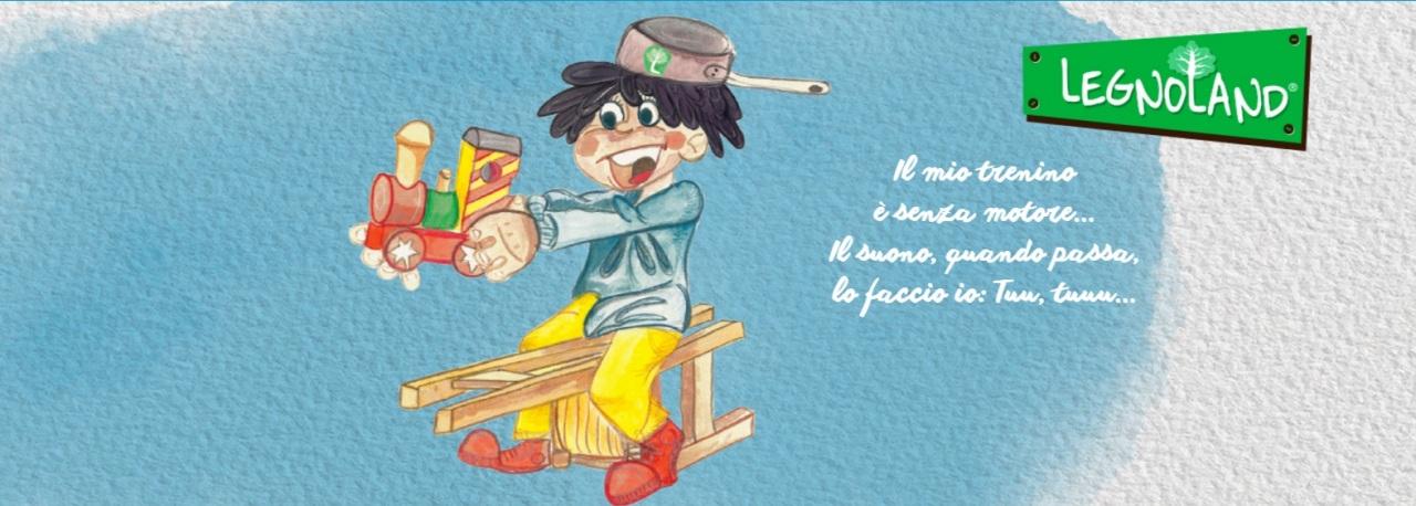 Pro&Go torna bambina con Legnoland di Globo Giocattoli