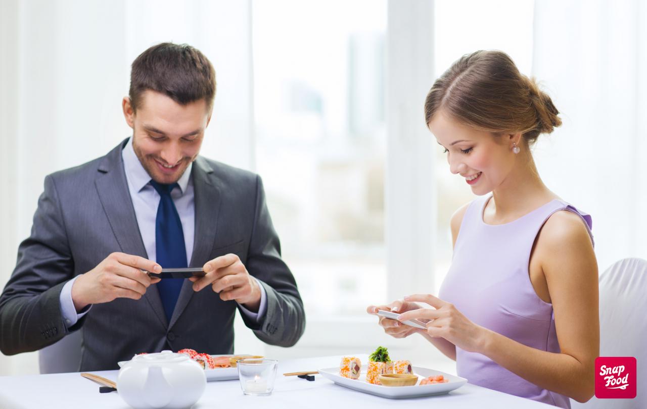 Arriva l'app con protagonisti i piatti di qualità assaggiati nei ristoranti italiani