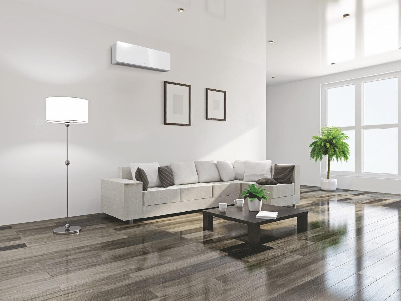 LINEA KG – Tripla classe A, refrigerante R32 e silenziosità per il climatizzatore dall'estetica minimal