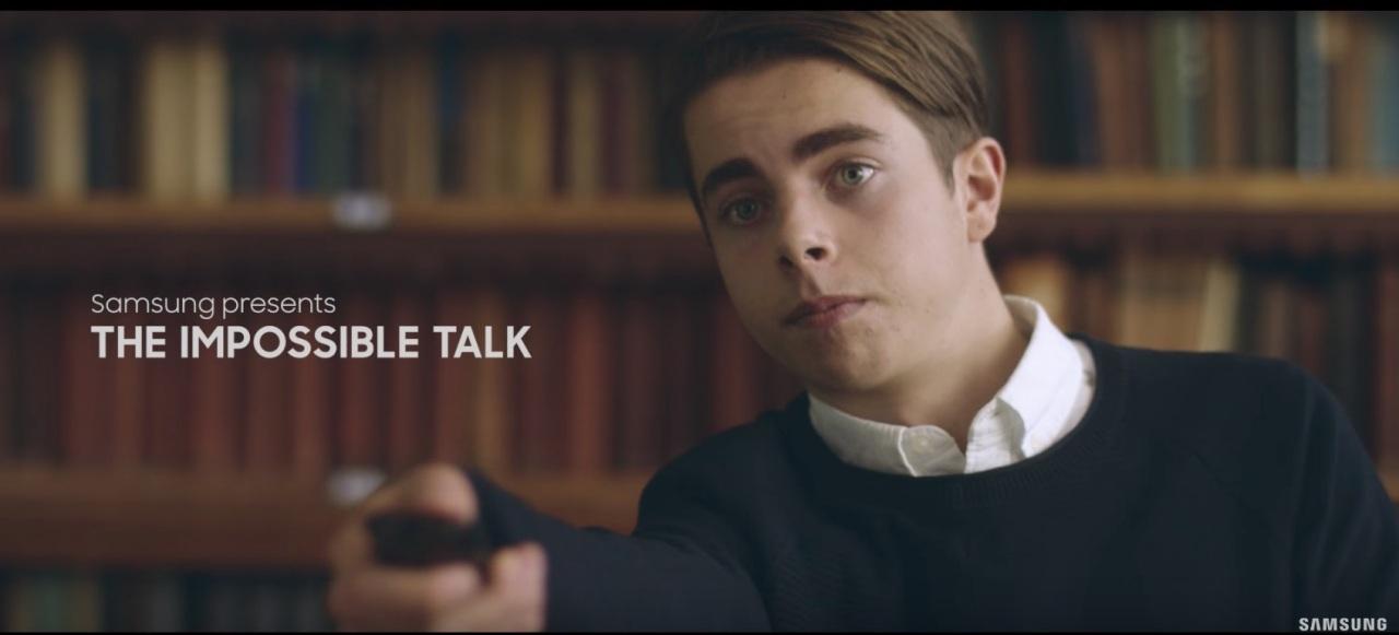 The Impossible Talk: Samsung, Leo Burnett e Bedeschifilm invitano i giovani a credere nei propri sogni