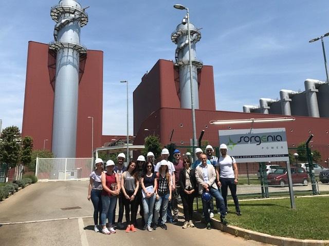 La centrale di Sorgenia apre le porte agli universitari di Cassino