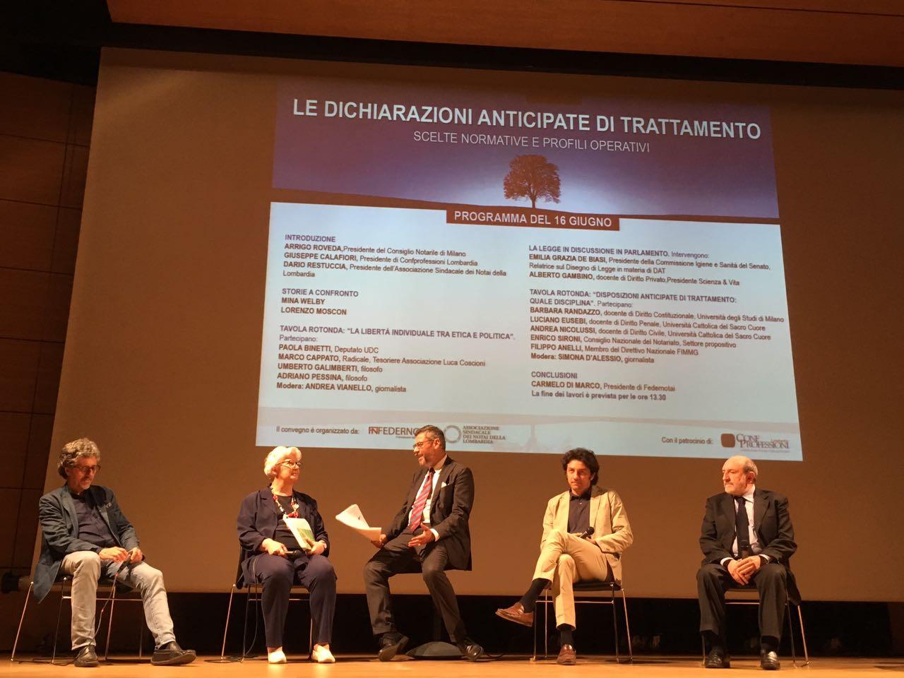 Biotestamento: Federnotai a convegno Senza un registro nazionale la legge sulle Dichiarazioni Anticipate di Trattamento rischia di essere inutile