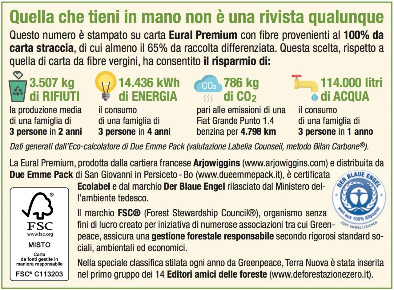 L'Eco calcolatore di Due Emme Pack debutta in editoria con Terra Nuova Edizioni