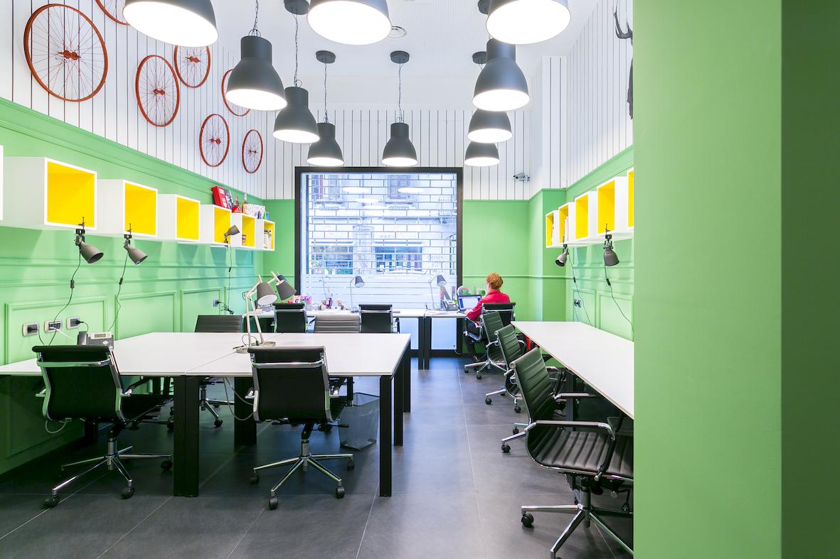 #IWorkHere, lo spazio di coworking in stile cosmopolita progettato da HIT arcHITects