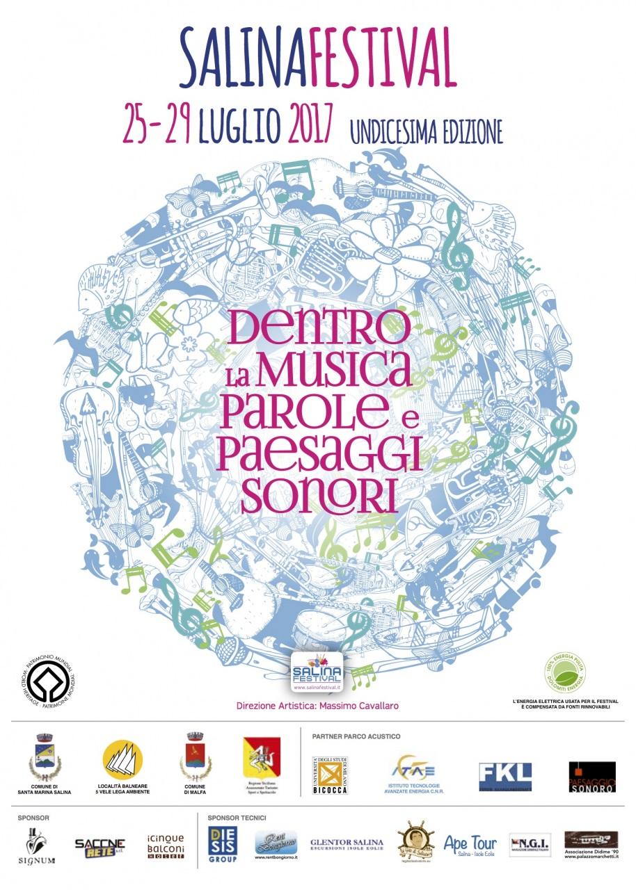 Dentro la musica, parole e paesaggi sonori: al via il Salina Festival