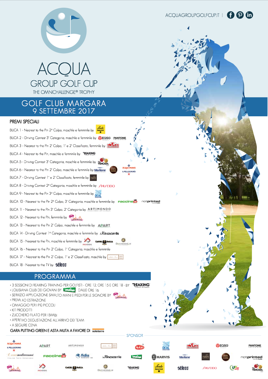 Acqua Group Golf Cup: The Omnichallenge ® Trophy
