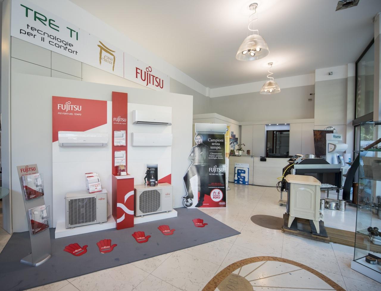 In Lombardia apre il nuovo CasaClima di Fujitsu Climatizzatori: un servizio completo, specializzato e attento a ogni esigenza di climatizzazione