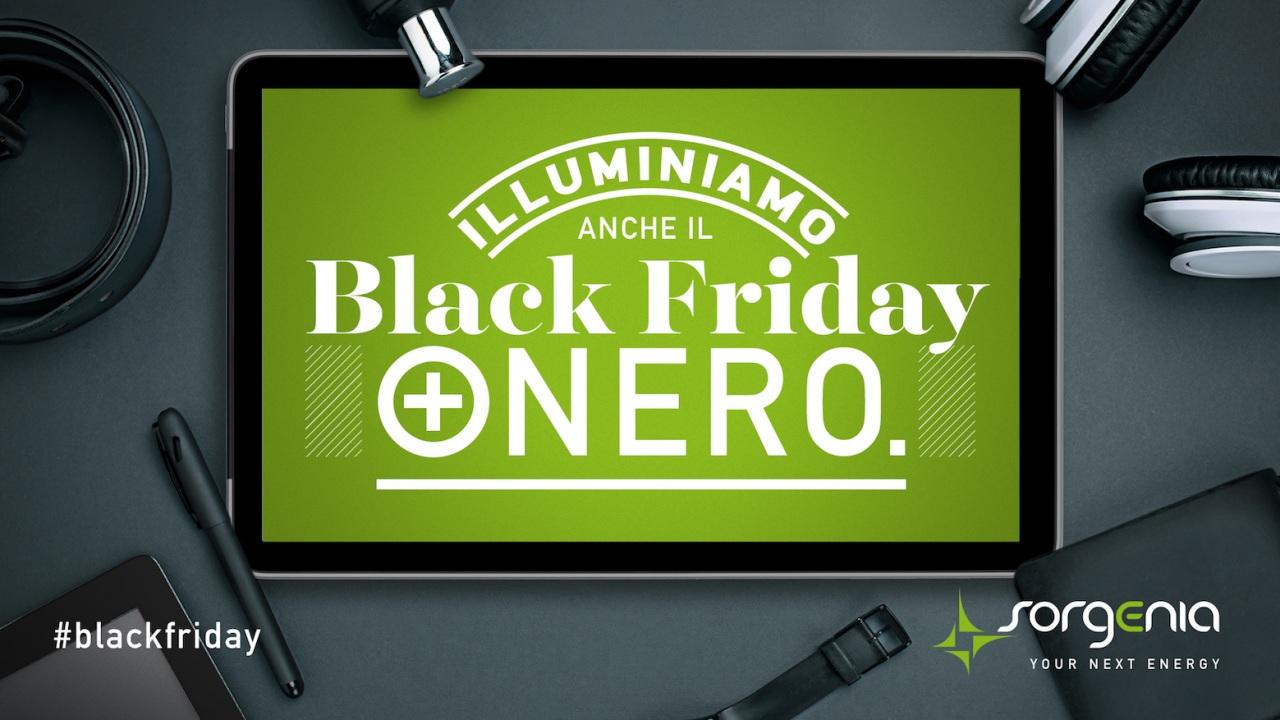 Sorgenia illumina il Black Friday