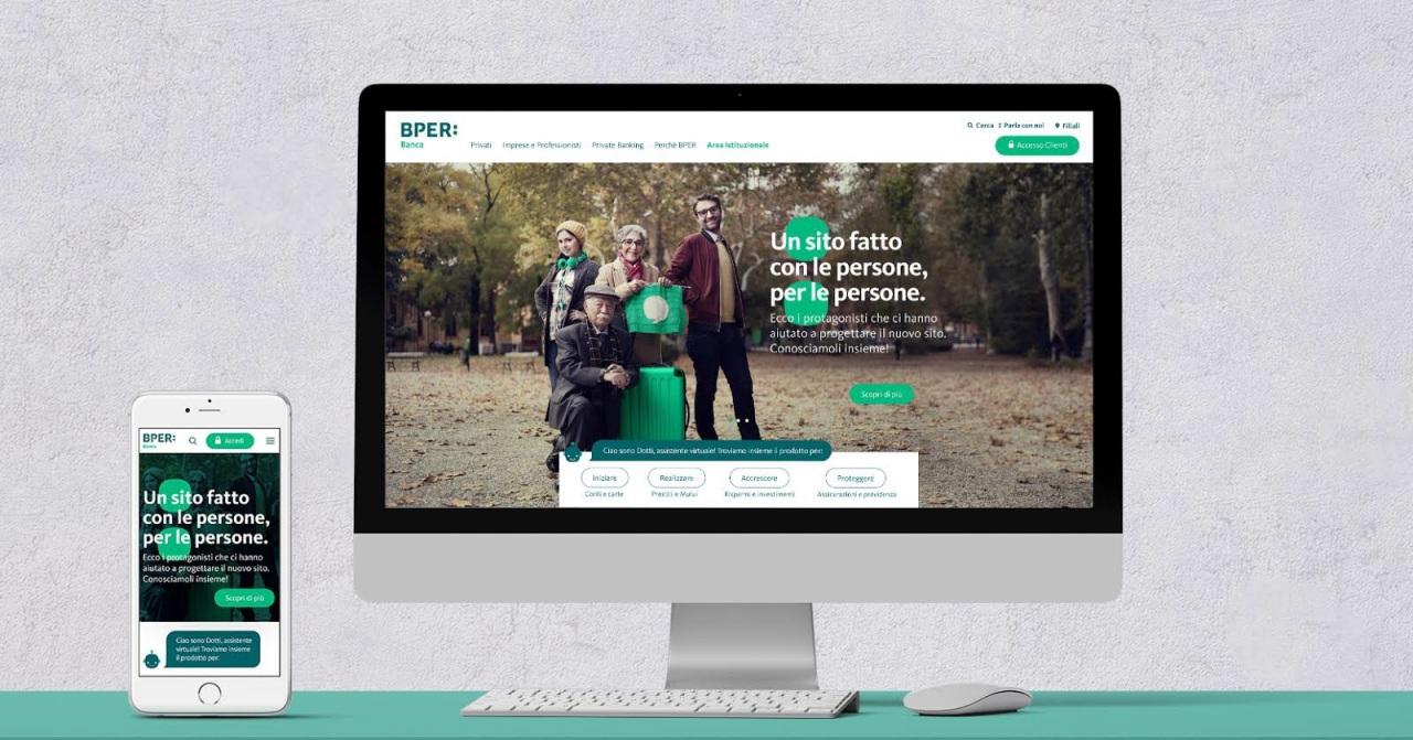 E' online il nuovo bper.it: un sito fatto con le persone per le persone