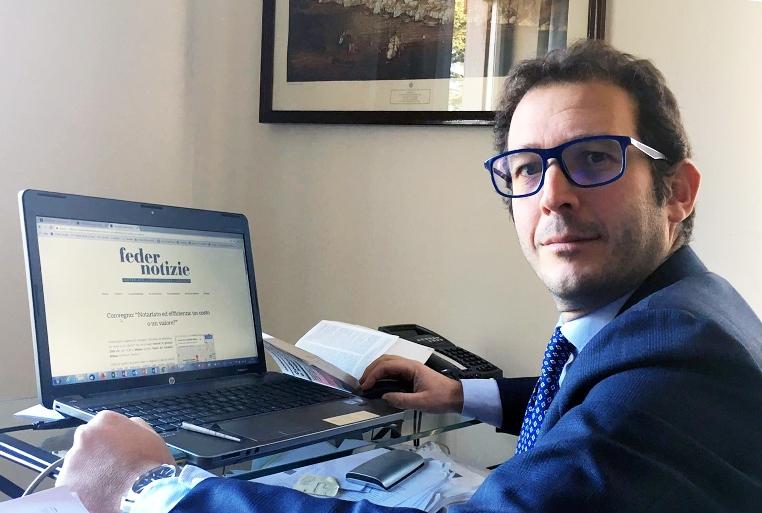 Domenico Chiofalo nuovo direttore di Federnotizie. Nel 2018 l'organo di stampa del sindacato dei notai italiani compirà trent'anni