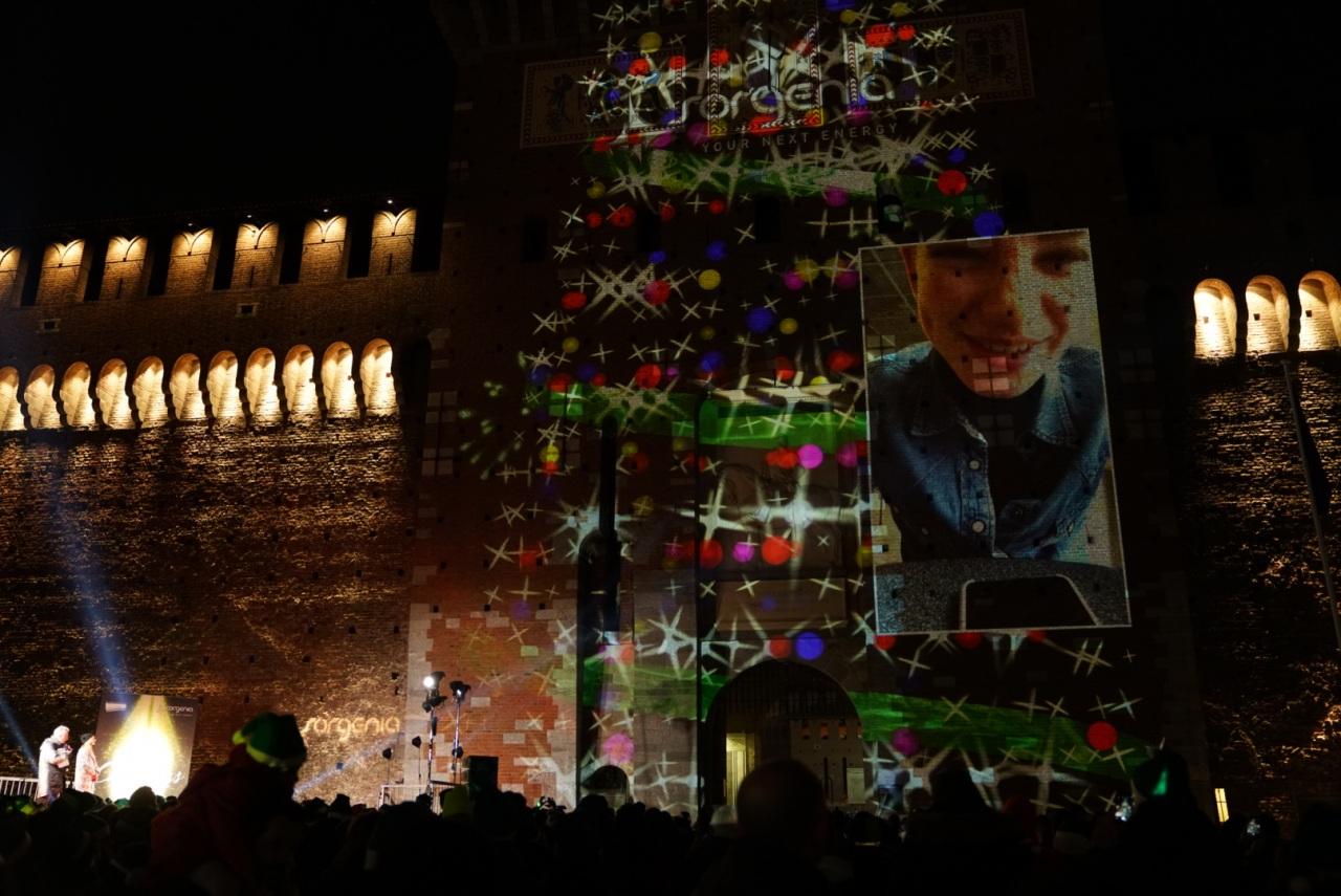 #yournextchristmas: bagno di folla al concerto di Natale al Castello Sforzesco.
