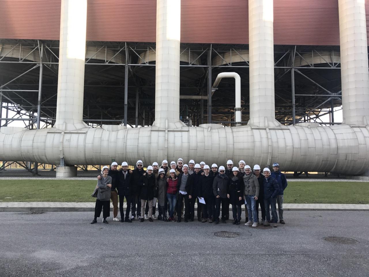 Sorgenia: studenti del MIP Politecnico di Milano in visita alla centrale di Lodi