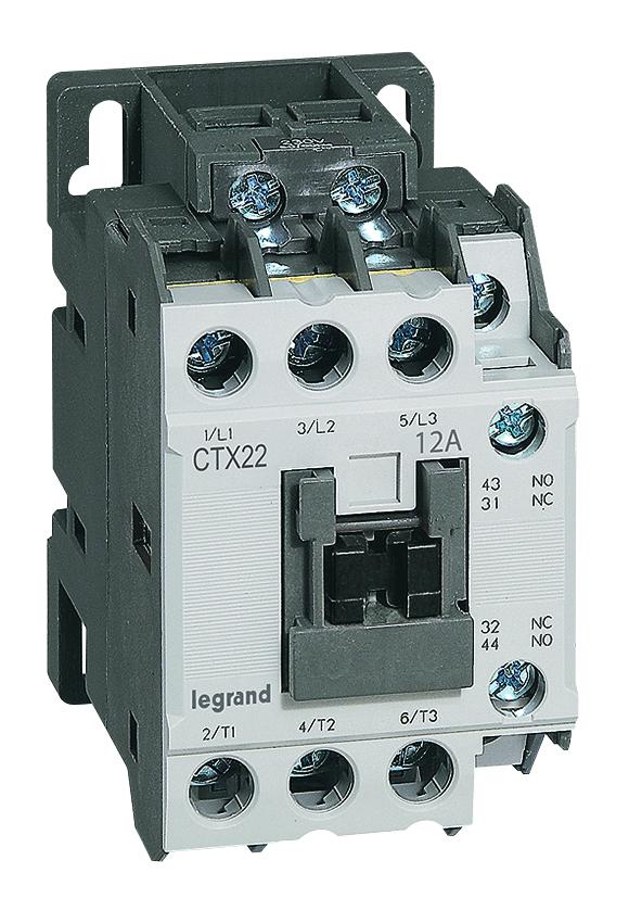 Contattori e salvamotori MPX3 e CTX3 Legrand: prestazioni senza compromessi