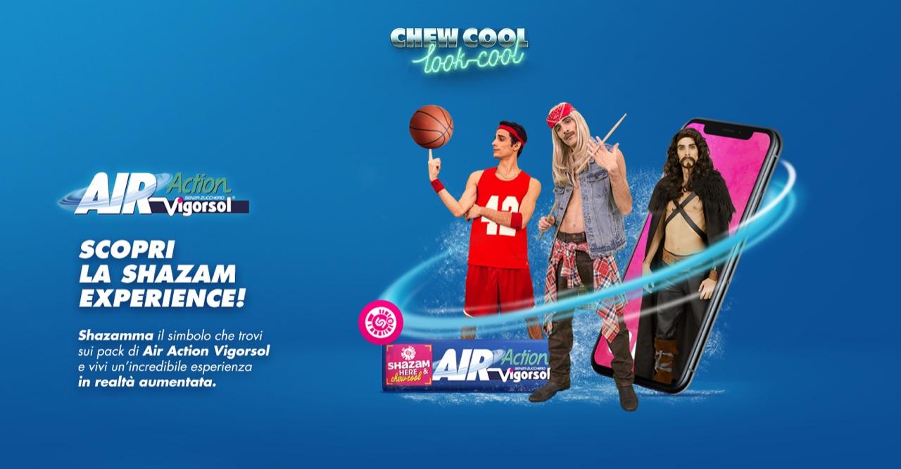 Kettydo+, awareness e engagement per Air Action Vigorsol su Shazam