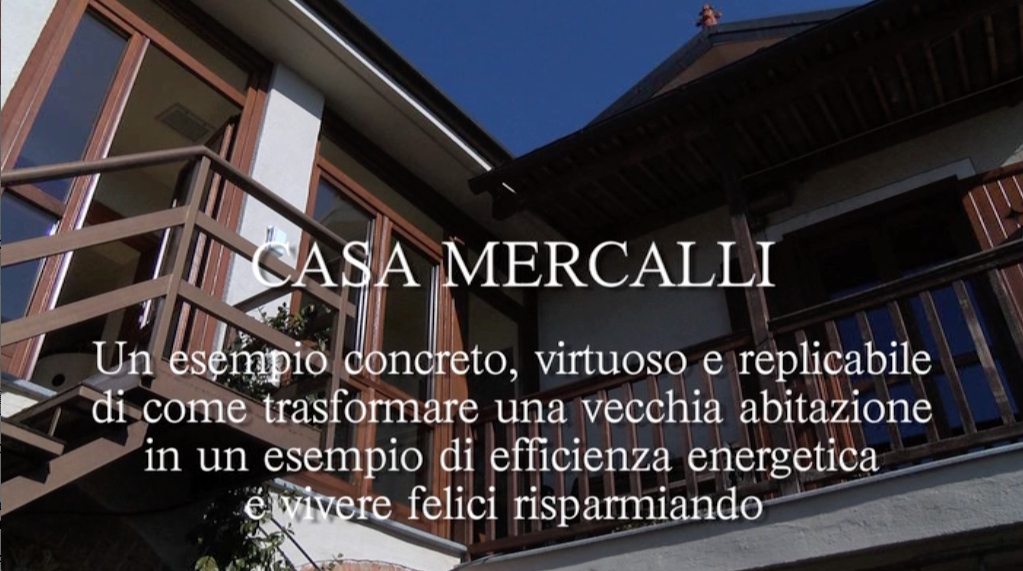 A MCE in Città, la presentazione video di Casa Mercalli  per sapere come trasformare l'abitazione in un gioiello di efficienza