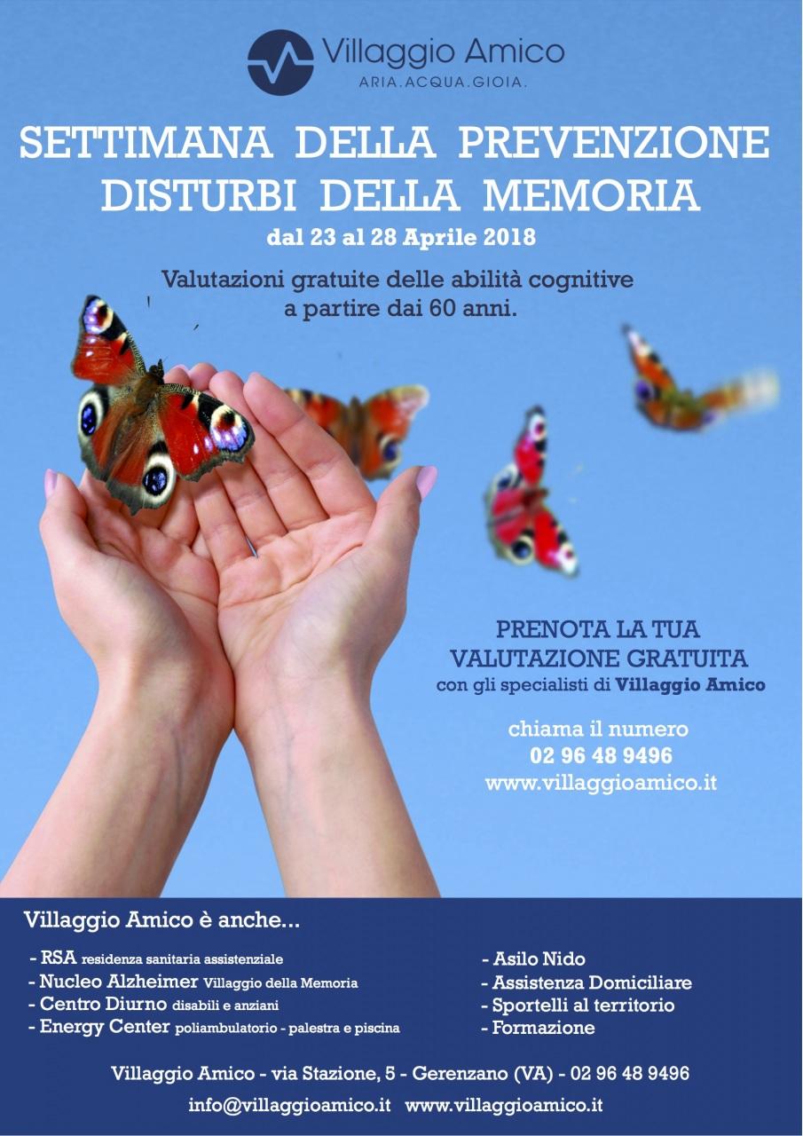 Villaggio Amico: una settimana di valutazioni gratuite per prevenire i disturbi della memoria