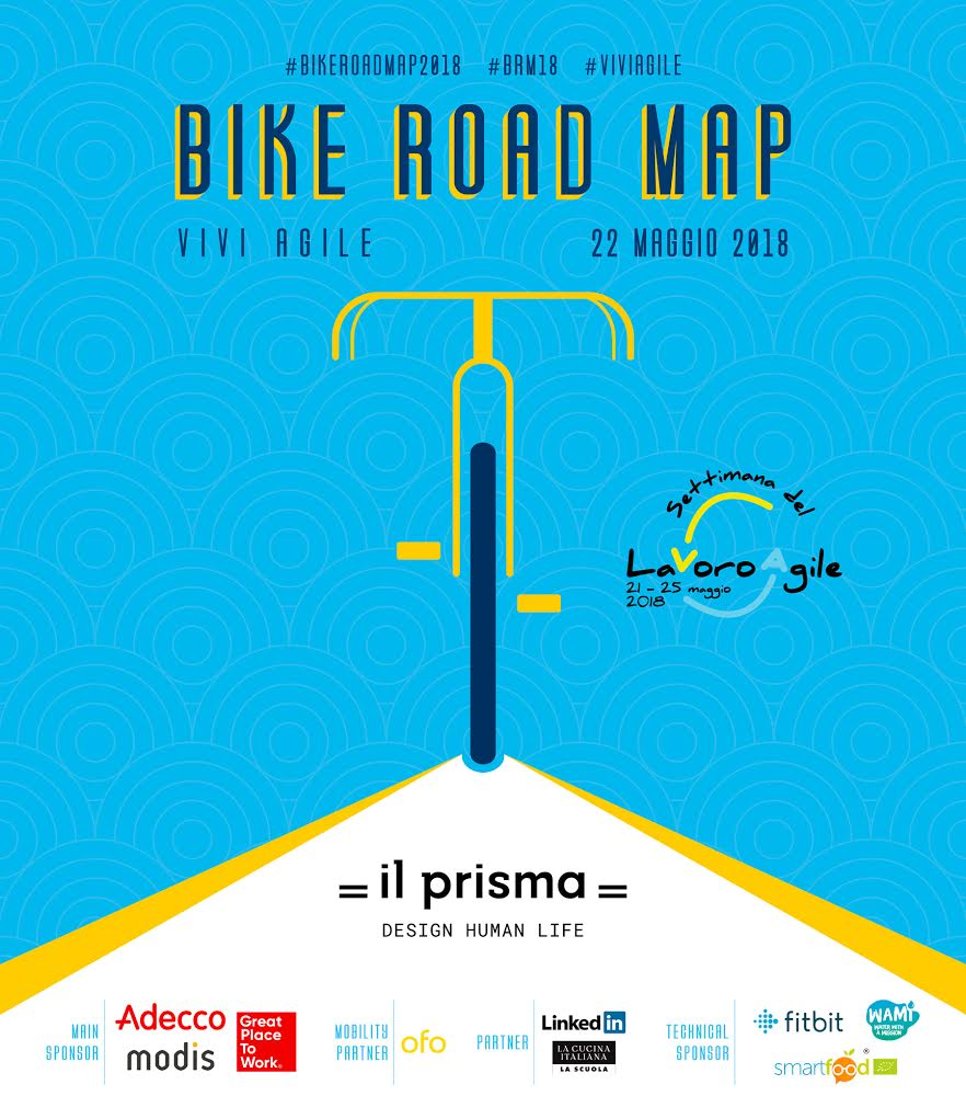 """Bike Road Map a Milano: un itinerario tra smart working e """"schiscette"""" salutari nella Settimana del lavoro agile"""