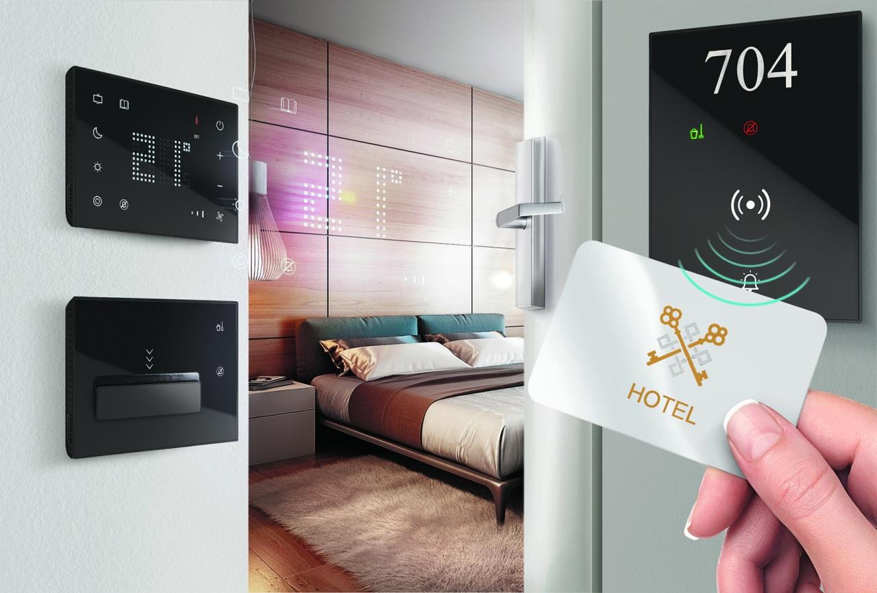 Da BTicino una nuova offerta premium con interfacce touch per il mondo degli hotel