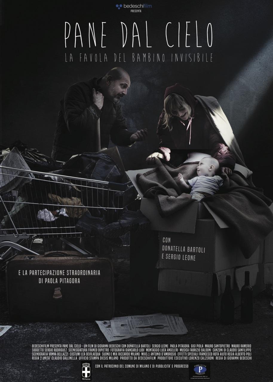 Il film sugli homeless Pane dal cielo al Festival Mangiacinema di Salsomaggiore Terme, con la consegna di un premio a Paola Pitagora
