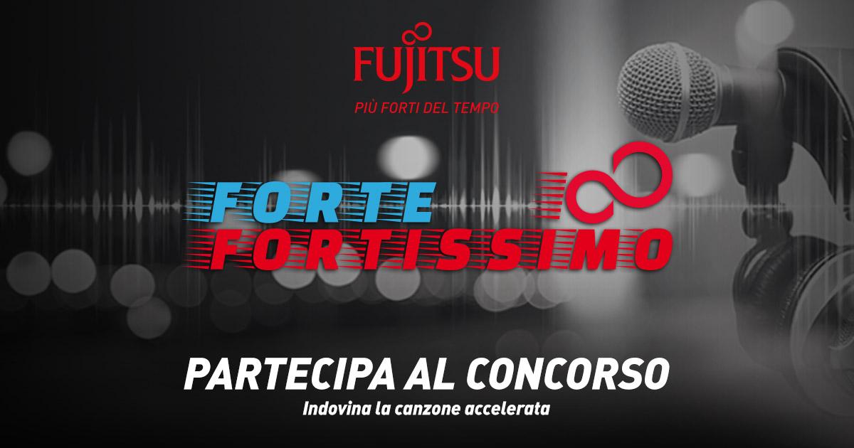 Con Fujitsu Forte-Fortissimo e Radio Italia vinci Sanremo!