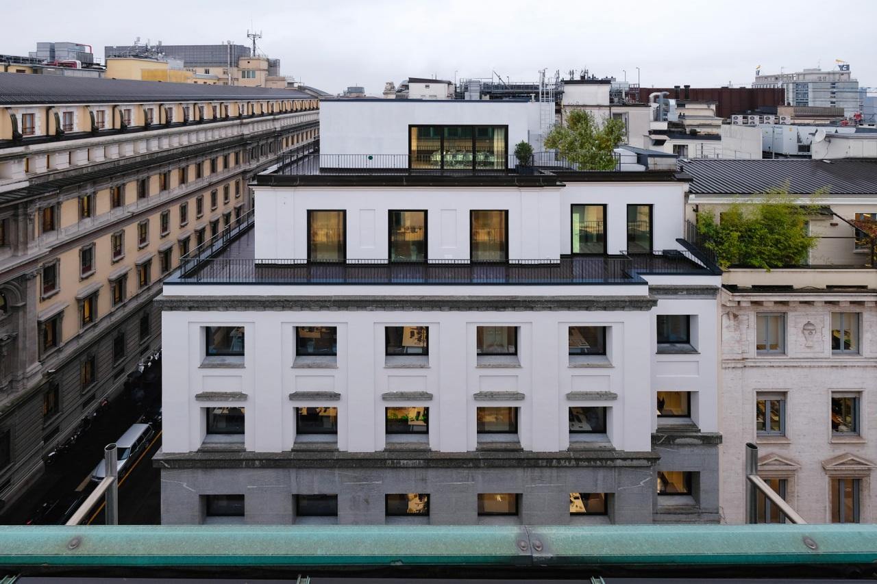 Il Prisma rinnova il palazzo di Gio Ponti per Gruppo Itas
