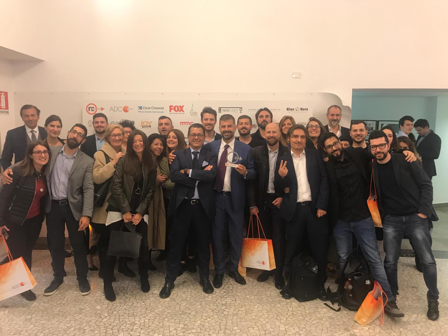 Acqua Group agenzia indipendente dell'anno agli NC Awards 2019