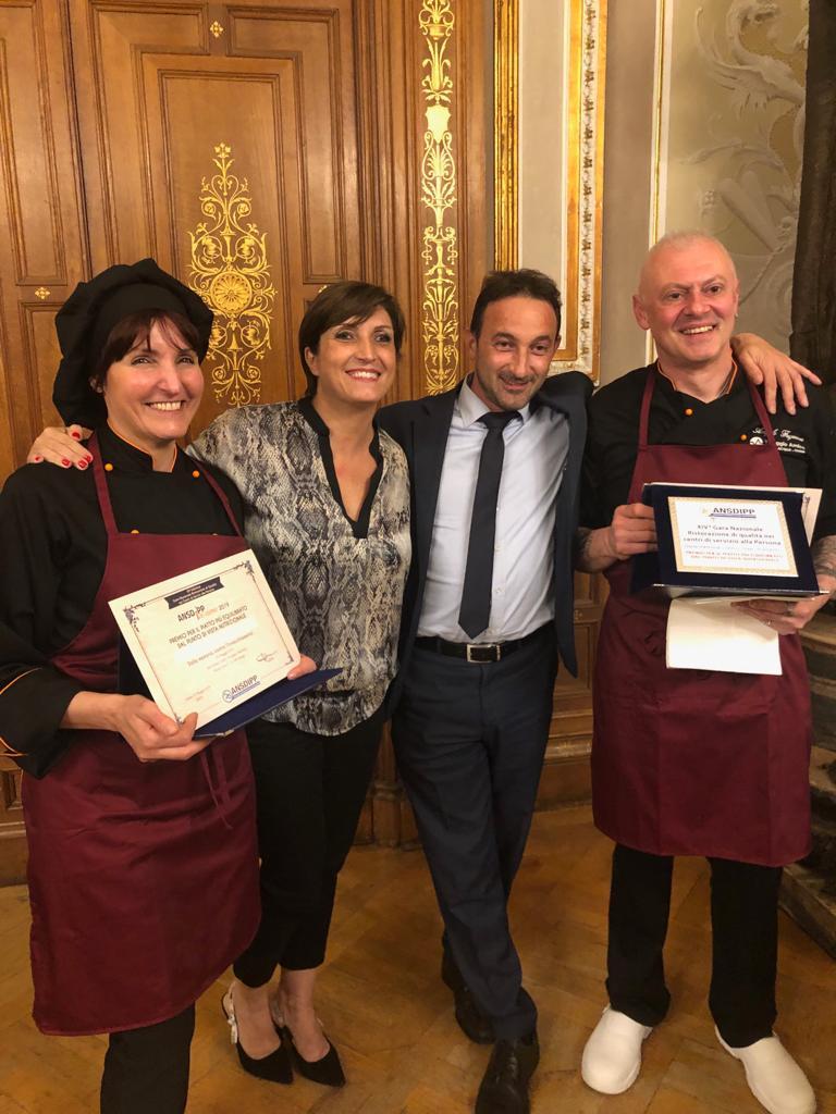 Villaggio Amico premiata alla gara di cucina di ANSDIPP