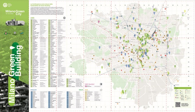Milano, città ecosostenibile: la Green City Map in distribuzione a MCE In the City