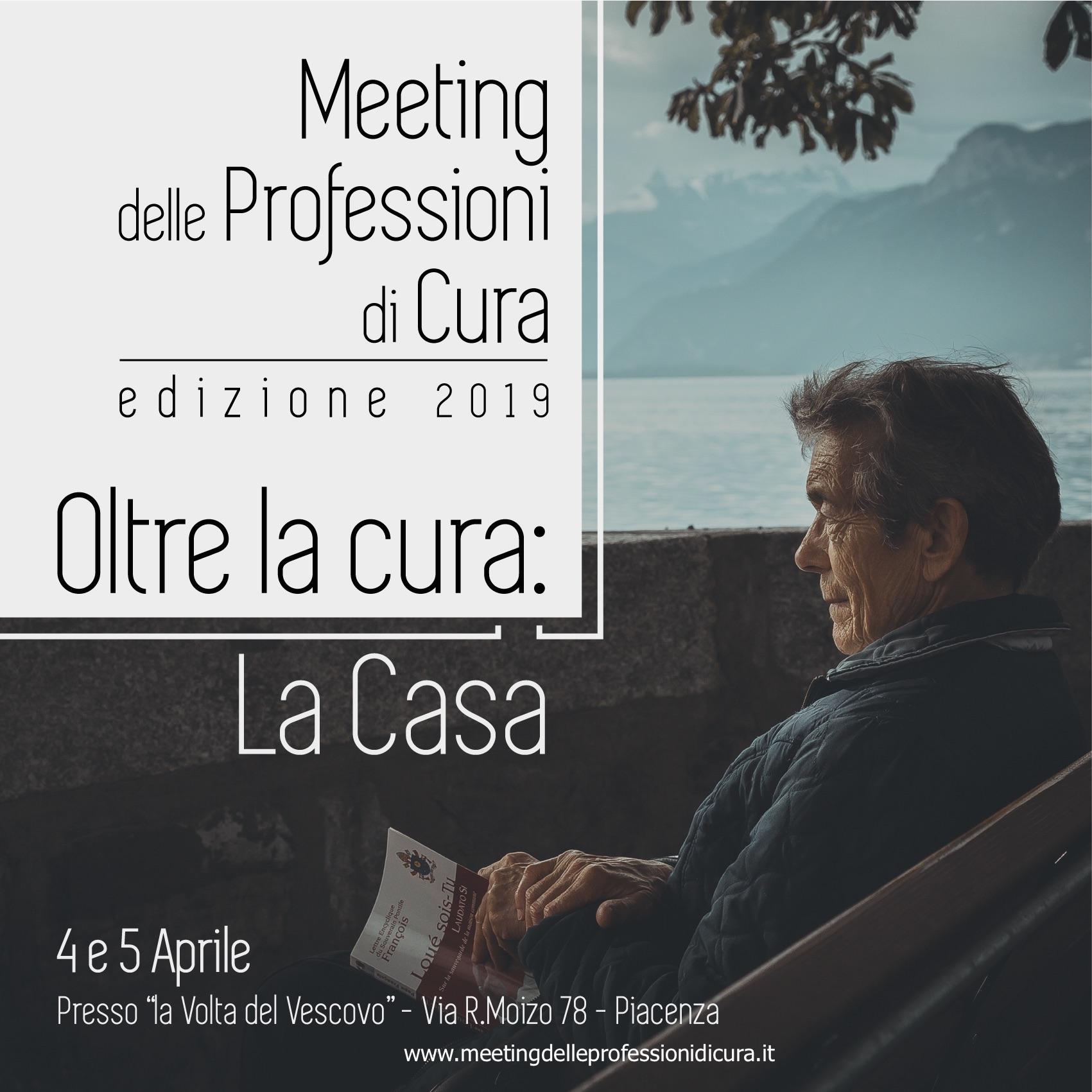Marina Indino (Villaggio Amico) al Meeting delle professioni di cura a Piacenza per parlare di formazione strategica