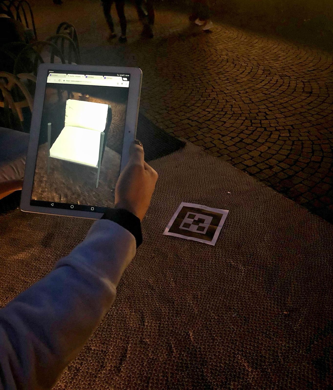 Con la realtà aumentata di Iaki Unopiù permette a tutti di progettare il proprio spazio