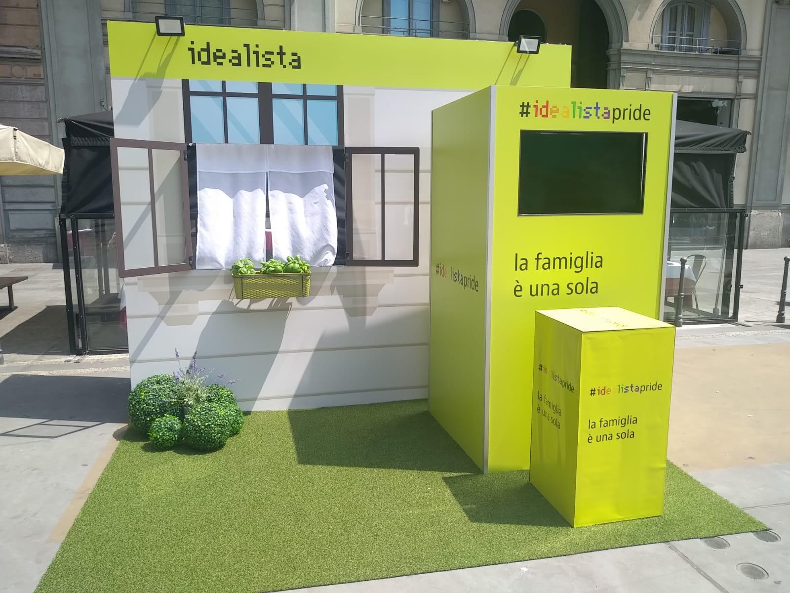 Acqua Group al Milano Pride 2019 con Idealista