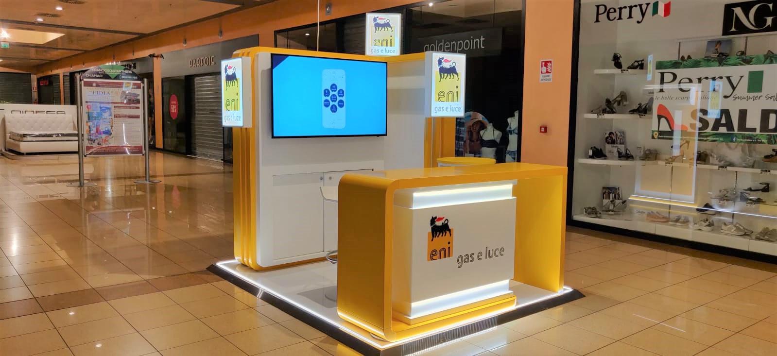 ENI gas e luce conferma Acqua Group come partner nel canale Mall