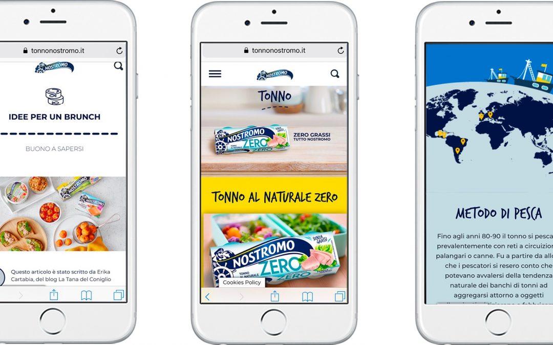 Nostromo si affida a IAKI per la digital strategy e registra il +73% di permanenza sulla pagina web