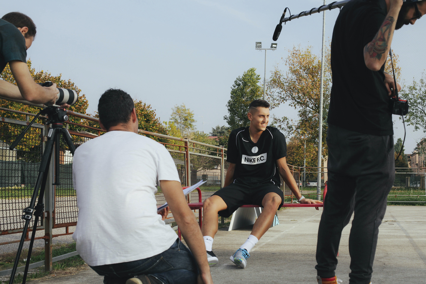 5 campioni di Serie A in una webserie per dire ai giovani che tutti ce la possono fare