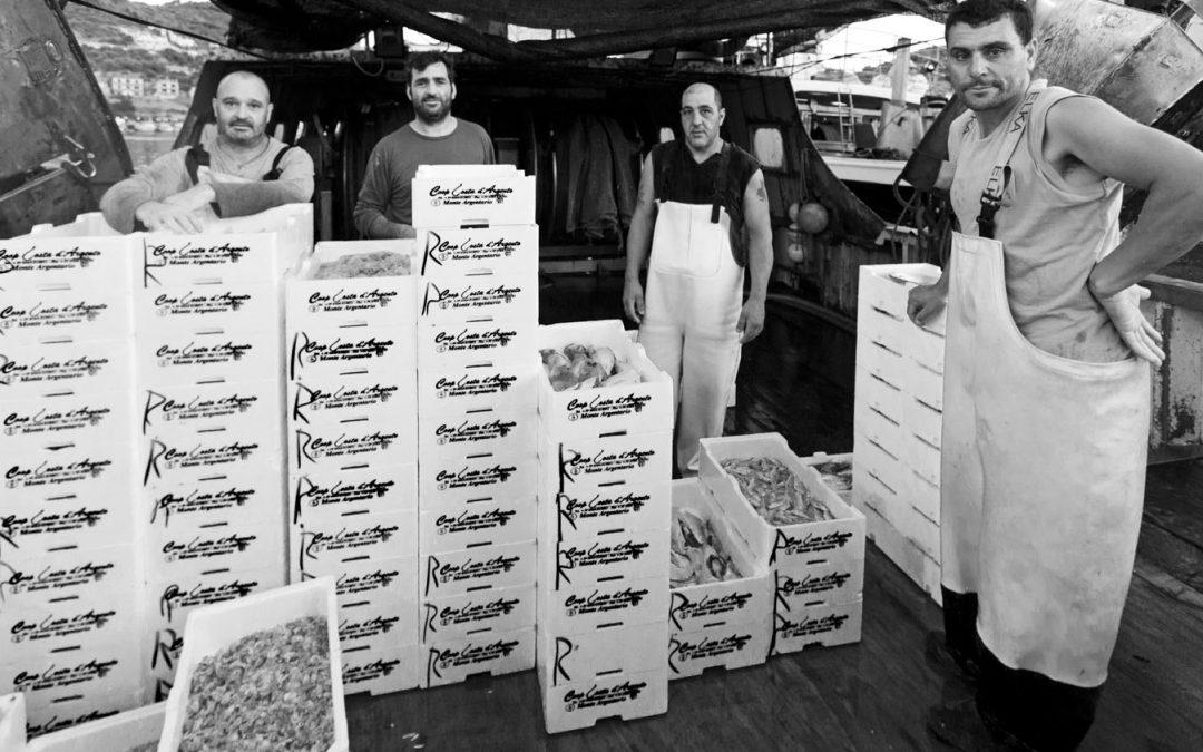I pescatori dell'Argentario non si fermano grazie all'iniziativa di Vivo