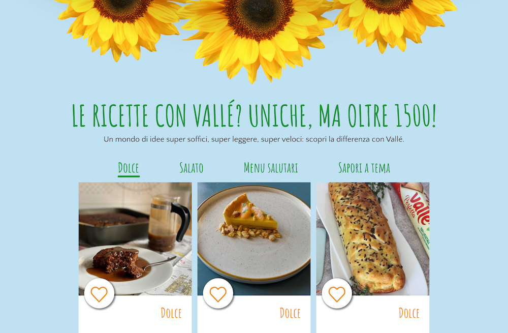 Tutta la gamma dei prodotti al centro del mondo Vallé: la strategia di IAKI per il nuovo sito di engagement
