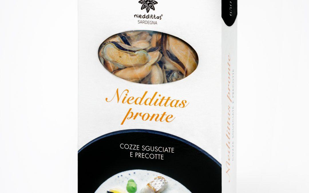 Per pranzi e cene a casa arrivano le Nieddittas Pronte, le cozze fresche del Golfo di Oristano sgusciate e precotte