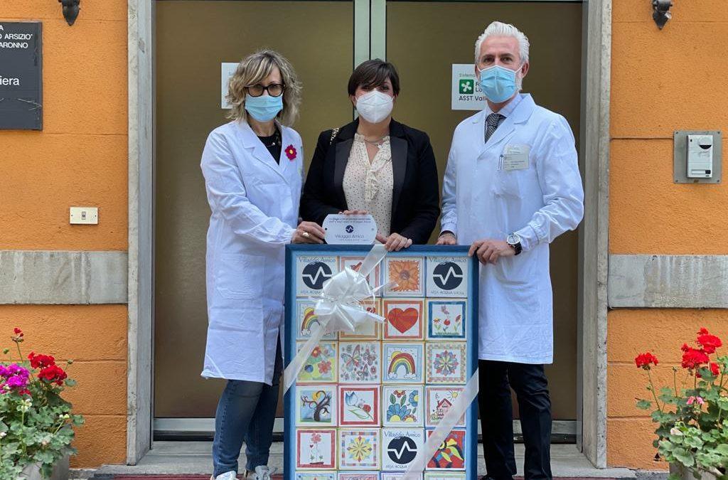 Dagli ospiti di Villaggio Amico un dono speciale dedicato a tutti gli operatori sanitari della ASST Valle Olona