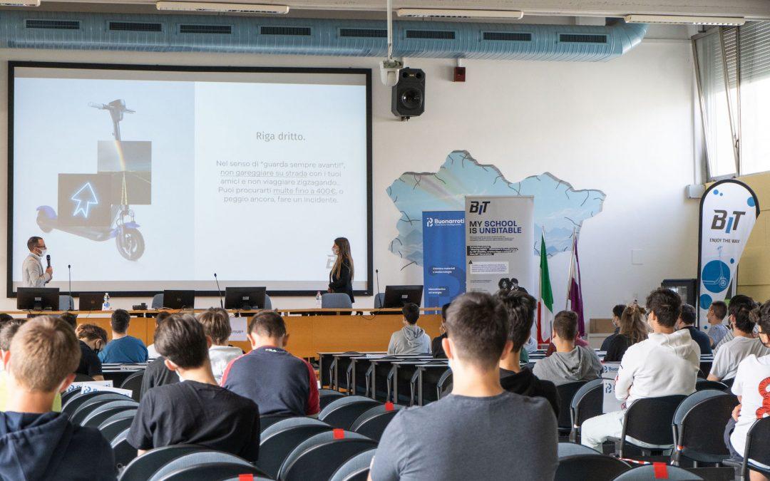Sharing mobility e sicurezza: BIT Mobility arriva all'ITT Buonarroti per formare gli studenti