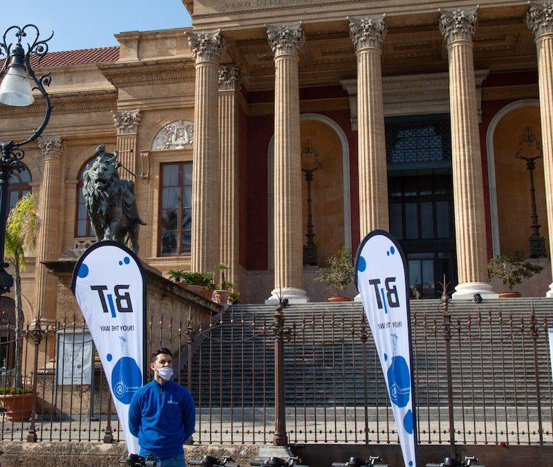 #FOLLOWTHEBIT: il tour estivo di BIT Mobility parte da Palermo